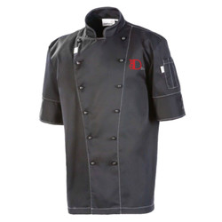 ChefD Clarke Chef Jacket - Charcoal
